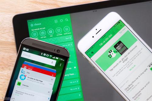 9 thủ thuật sử dụng Evernote trên thiết bị di động iOS và Android