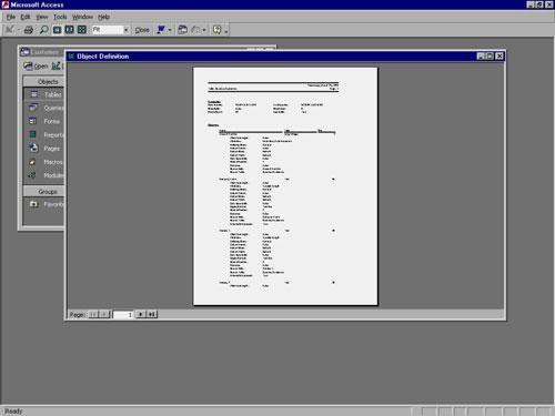 MS Access 2003 - Bài 27: In ấn thông tin cho các đối tượng