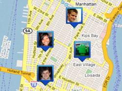 """Google ra mắt phần mềm """"định vị"""" người thân"""