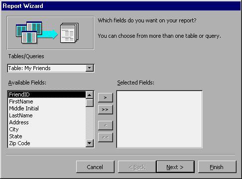 MS Access 2003 - Bài 31: Tạo một Report