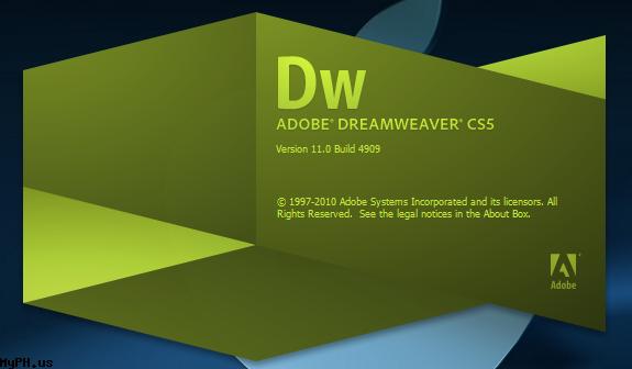 По ссылкам выше вы можете скачать Adobe Dreamweaver CS5 11.0.490.