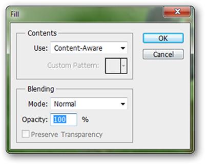 Hướng dẫn sử dụng Photoshop CS5 - Phần 16: Xóa đối tượng bất kỳ khỏi bức ảnh