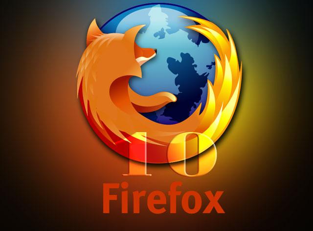 FireFox 10: Cáo lửa thức giấc
