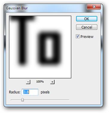 dùng Gaussian Blur