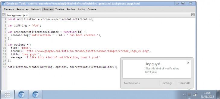 Chrome sẽ có Notification Center mới, tích hợp Google Now