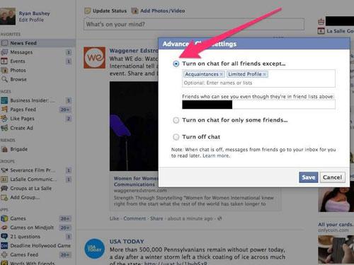 """Để từ chối lịch sự những người bạn """"lá cải"""" trên Facebook"""