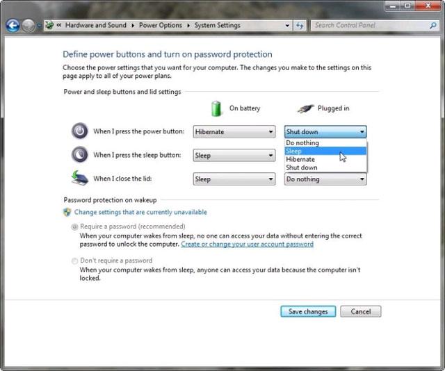 Cách tạo phím nóng để Windows ngủ và tắt máy
