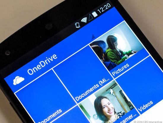 Dịch vụ lưu trữ đám mây OneDrive chính thức hoạt động