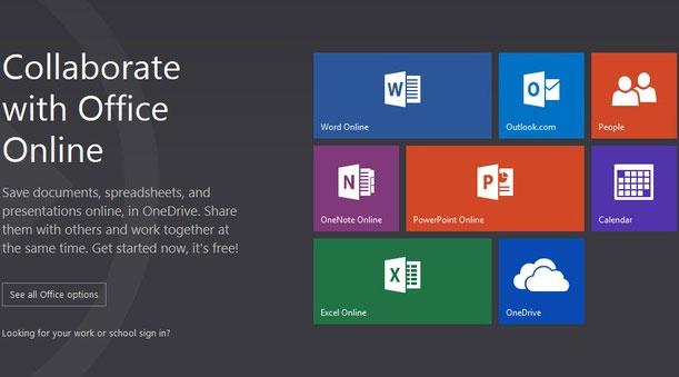 Microsoft đổi tên Office Web Apps thành Office Online