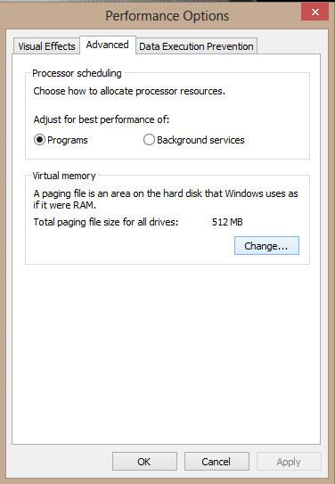 Cách xử lý máy tính báo lỗi Your computer is low on memory