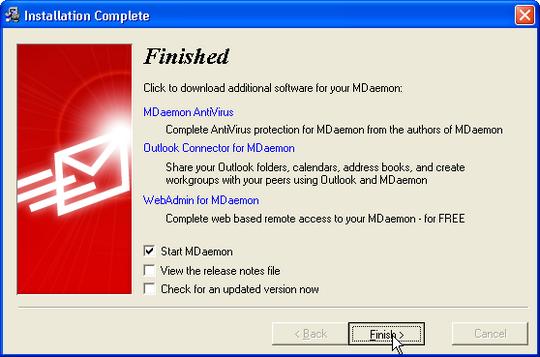 Hướng dẫn cài đặt MDaemon Mail Server MDaemon-23