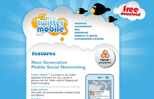Twitter quảng cáo trực tuyến trên thuê bao di động