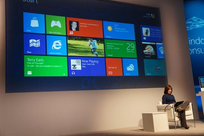 Vũ khí lợi hại của Windows 8
