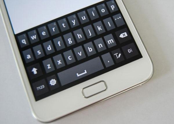Cách soạn nhanh văn bản trên màn hình cảm ứng