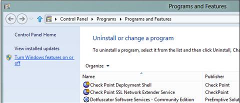 Cách gỡ bỏ Internet Explorer 10 trong Windows 8