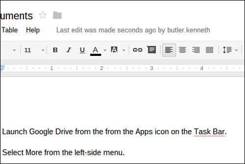 Cách kích hoạt Google Docs Offline trên Chromebook
