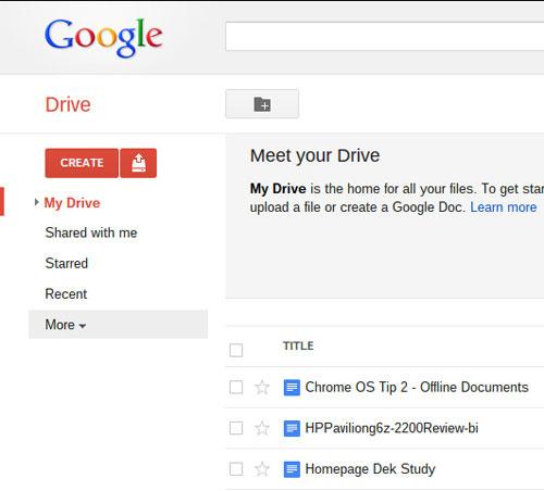 Bí kíp để vô tư xài Google Docs khi mất mạng