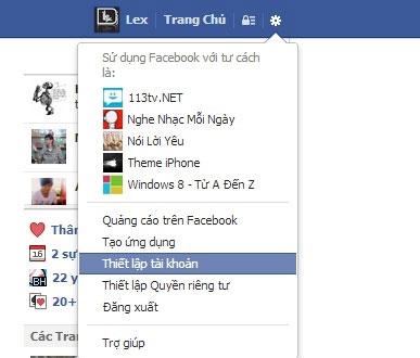 Facebook, Twitter và Google+