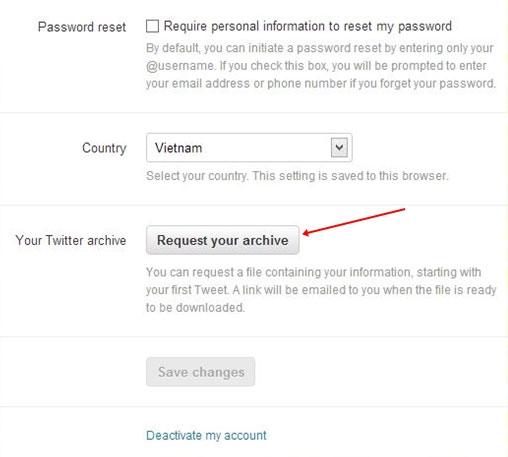 Sao lưu dữ liệu cá nhân trên Facebook, Twitter và Google+