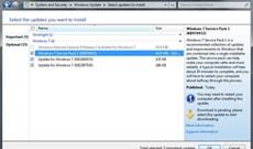 Windows 7 sẽ tự động cài đặt Service Pack 1 vào ngày 20/03