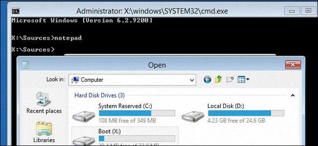 Cách sao lưu dữ liệu khi hệ điều hành không khởi động?