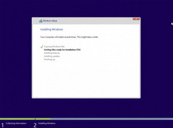 Video và hình ảnh về Windows Blue