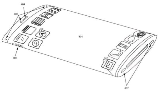 Apple sẽ sản xuất iPhone màn hình cong, nút ảo?