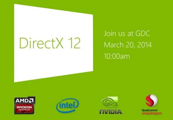 Microsoft sắp ra mắt giao diện lập trình game DirectX 12