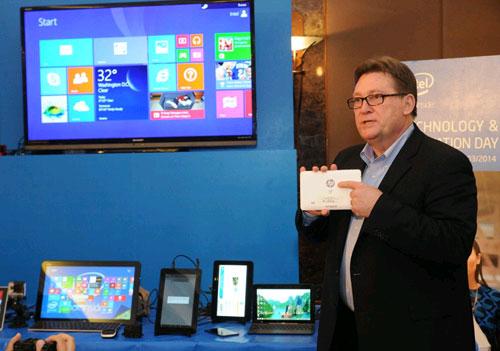 Intel giới thiệu trải nghiệm thực tế các thiết bị di động