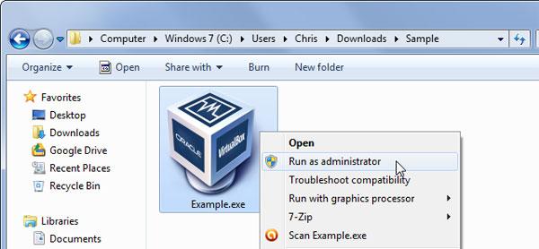 Khắc phục vấn đề không cài được phần mềm trên Windows