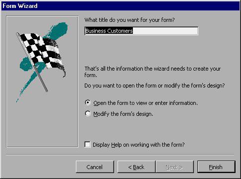 MS Access 2003 - Bài 35: Tạo Form sử dụng Form Wizards - Quantrimang com