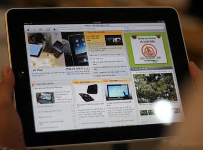 iPad đầu tiên tại Hà Nội