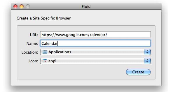 how to add google calendar to mac dock