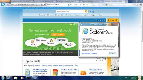 Bản thử nghiệm Windows 8 đầu tiên xuất hiện