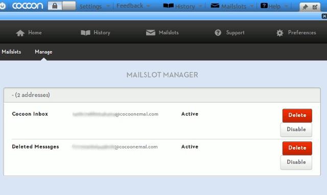 quản lý email tạm thời