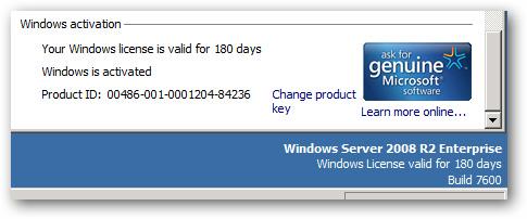 Hệ thống sẽ có thêm 180 ngày sử dụng