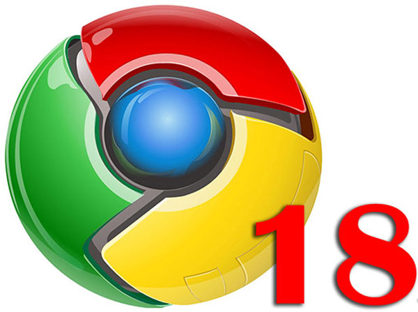 Google Chrome 18 là trình duyệt phổ biến nhất thế giới