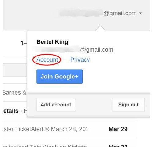 Cách xóa tài khoản Gmail và tài khoản Google