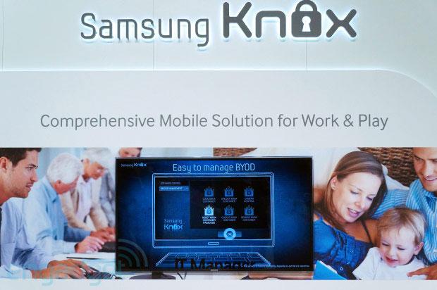 Samsung hoãn phát hành ứng dụng bảo mật KNOX