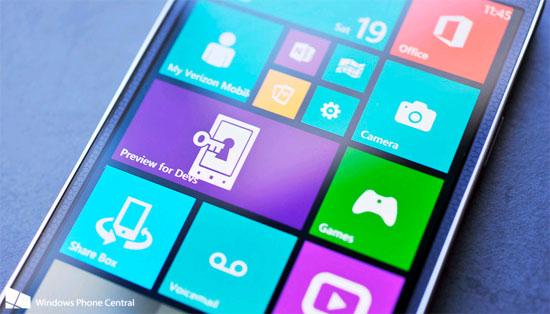 Microsoft sẽ tung bản cập nhật cho WP8.1 Preview sửa lỗi 80.188.309