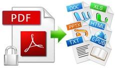 Chuyển đổi định dạng PDF sang Office mà không dùng phần mềm