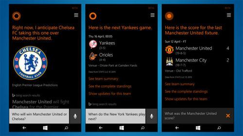 20 câu lệnh dùng với Cortana