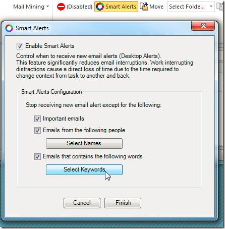 Cải thiện các chức năng trong Outlook 2010 với Mail Mining