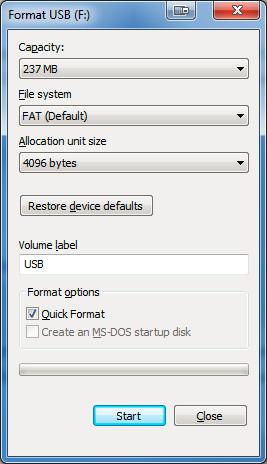 Tạo Windows Password Reset Disk trên Windows 7 bằng ổ USB Flash Drive