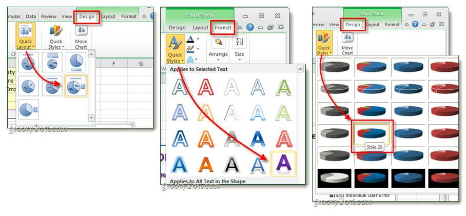 Hướng dẫn tạo biểu đồ trong Excel 2007 hoặc 2010