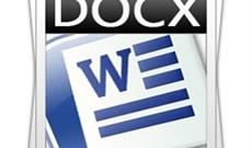 Khám phá  file *.docx trong Windows 7