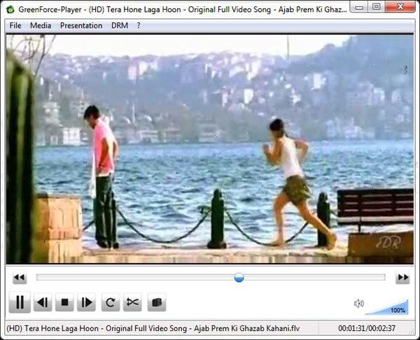 Đặt mật khẩu cho video với GreenForce Player