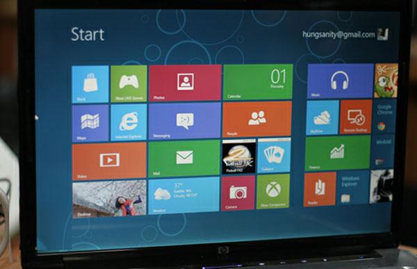 Windows 8 sẽ tập trung vào kết nối mạng xã hội