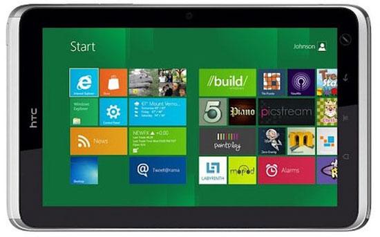 Bộ đôi tablet Windows RT mới của HTC dùng chip bốn lõi
