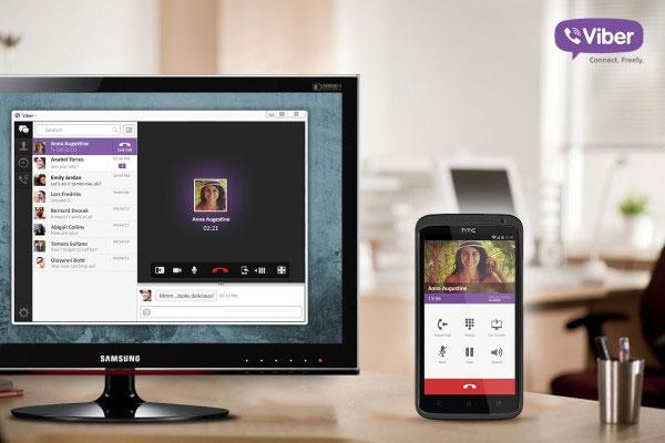Viber đã có phiên bản dành cho máy tính Windows và Mac